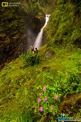 A beautiful waterfall (Abhibrata Bhakta) Tags: waterfall waterfalls sikkim sikkiminrain northsikkim mangannorth monsoon