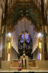 at St. Patrick's (michelle.dawn) Tags: church stpatrick nyc newyork neogothic cross catholic