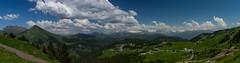Panorama depuis le col de la Ramaz (Praz de Lys) (peterfatson) Tags: panorama mountain montagne alpes pentax savoie wr k3 1685 pentaxart