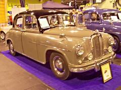 328 Singer Hunter (1956) (robertknight16) Tags: singer british 1950s hunter sm1500 rootes nec2013