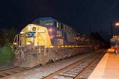Q418-15 @ Yardley (Dan A. Davis) Tags: csxtrentonsubdivision csx freighttrain yardley pennsylvania railroadphotography cw44ac ac44cw es44ah q418
