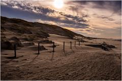 Dune (koko lorix) Tags: dune sand beach sunset clouds sun landscape winter