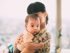 (Randy Wei) Tags: people child mitakon fujifilm xe1 speedmaster zhongyi infant