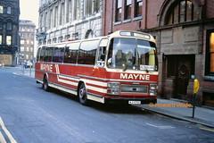 Mayne, Clayton 65 (MJI 5765 ex SNC 365X) (SelmerOrSelnec) Tags: mayne clayton leyland leopard plaxton mji5765 snc365x manchester chathamstreet bus coach railreplacement
