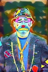 dreamscope zantiny (timp37) Tags: dreamscope illinois clown zantiny august 2016 showmens rest forest park woodlawn cemetary