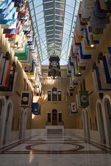 IMGP1522 (Povl) Tags: boston massachusettsstatehouse greathall flags