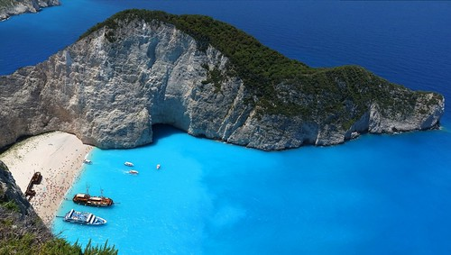 Navagio Beach, Zakynthos, Ionian Islands, Greece