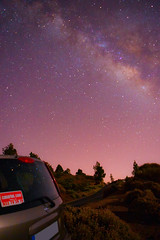 Milky Way (db2810) Tags: tenerife night nightsky sunset clouds above evening outdoors vastness