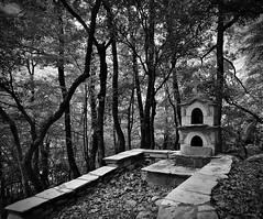 Altar (dr_scholz@ymail.com) Tags: altar christian symbols outdoor woods meteora greece greekorthodox leicam9 superelmarm21mmasph superelmarm21mmasphf34