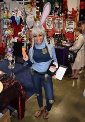 Judy Hopps cosplay at Boston Comic Con 2016 (FranMoff) Tags: costume costumer bostoncomiccon flickr cosplay rabbit cosplayer 2016 judyhopps zootopia bostoncomiccon2016