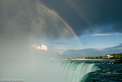 090811 Niagara-04.jpg (Bruce Batten) Tags: trees locations plants trips occasions rivers subjects buildings cloudssky atmosphericphenomena waterfalls businessresearchtrips rainbows canada niagarafalls ontario ca