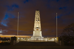 War Memorial (Macr1) Tags: 61403327236 anzac australia bluehour camera conditions d700 default filters kingspark lens location markmcintosh memorial nikon nikond700 outdoor pcenikkor24mmf35ded perth wa wwi westernaustralia macr237gmailcom markmcintosh