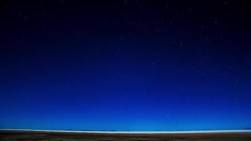 Uyuni - Night Sky time-lapse