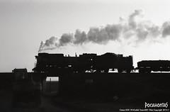 2015/1/3 JS8173 Sandaoling (Pocahontas®) Tags: railroad bw film kodak engine rail railway loco steam locomotive 135 tmax400 135film sandaoling js8173