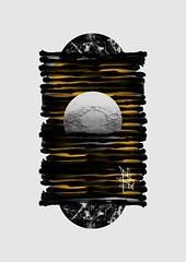 Welcome To Nowhere (Markos Zouridakis) Tags: white black collage digital ink landscape artwork handmade calligraphy visual sumi grigoris papagrigoriou markoszouridakis