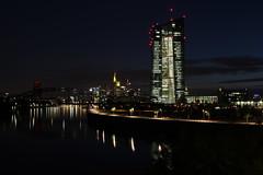 Skyline mit EZB (Alderbabbsack) Tags: frankfurt skyline ezb osthafen