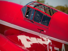 DH88 Comet  in the sunshine - Old Warden (davepickettphotographer) Tags: park uk house june museum race vintage aircraft aviation air bedfordshire collection airshow trust gb comet shuttleworth airmuseum racer laa dehavilland grosvenor biggleswade 2015 oldwarden dh88 theshuttleworthcollectionuk collectionairshow dacss