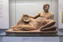 LONDRES - BRITISH MUSEUM - URNA CINERARIA ETRUSCA (mflinera) Tags: inglaterra museum londres british cineraria urna etrusca