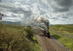 Missing the S&C! (Eddie Hyde) Tags: galatea steamtrain steamlocomotives ribbleheadviaduct yorkshiredales railway