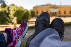 _DSC3826 (Dario Morelli) Tags: boboli pitti giardini palazzo firenze maggio 2016 feet foot piedi