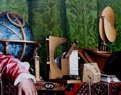 IMG_0151F Hans Holbein le Jeune. 1497-1543.  Jean de Dinteville and Georges de Selve.  The Ambassadors.  Les Ambassadeurs. 1533.    Londres. National Gallery. (jean louis mazieres) Tags: greatbritain london museum painting unitedkingdom muse nationalgallery londres museo peintures peintres grandebretagne hansholbeinlejeune