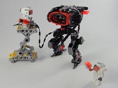 Droid Maintenance (Marco Marozzi) Tags: lego marco mecha droid moc minifigures marozzi legodesign legomecha legomech harsuit droneuary