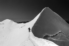 Arrivo (vettenuvole) Tags: alpinismo castore valdayas versanteovest vettenuvole traversatadelcastore