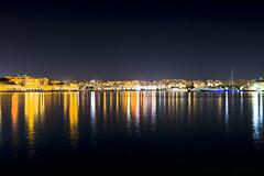Looking across the bay (Sheldrickfalls) Tags: taxbiex malta floria grandhotelexcelsior excelsior hotel lights