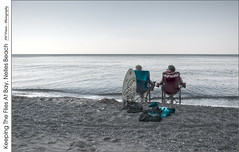 Keeping The Flies At Bay, Nelles Beach (jwvraets) Tags: alexcolville painter canadian lakeontario couple beach chairs flies summer boogieboard grimsby nellesbeach niagara hdr tonemapped opensource luminance rawtherapee gimp nikon d7100 nikkor18105mmvr