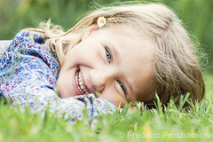 girl lying on grass laughing (Prochasson Frdric) Tags: child grass kid girl field sun cute outdoor calm forest warm fun greenery day happiness holiday sunny glad summer amusing caucasian hold female countryside smile lady rest gladness daughter adorable relax think childhood beauty joyful joy friendly cheerful background fresh nature vacation little happy summertime portrait flower daisy laugh