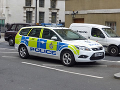 EU60 HKC (Emergency_Vehicles) Tags: eu60hkc ministry defence police 260 ford focus london