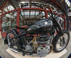 Bike Shed London (CdL Creative) Tags: england london canon geotagged eos unitedkingdom fisheye gb e1 bikeshed wapping towerhamlets motorcycleclub greaterlondon tobaccodock cdlcreative 1dmkiii geo:lat=515083 geo:lon=00594