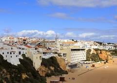 Albufeira (Hans van der Boom) Tags: europe portugal algarve vacation holiday albufeira town beach city pt