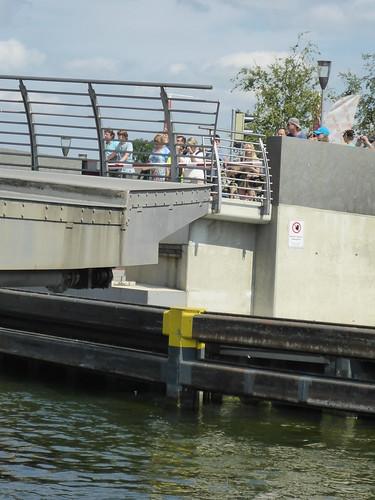 an der Drehbrücke in Malchow
