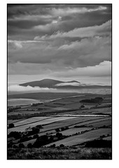 Land & Cloud Valleys (Manxscape Photography) Tags: andrewhaddock manxscape manx isleofman valley clouds cloud bw landscape nikon d600