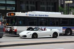 F430 (Ethan Boelkins) Tags: chicago downtown convertible v8 supercar sportscar spider 430 f430 ferrari ferrarif430