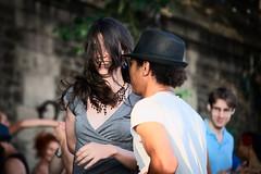 """""""Paris is a Feast / Paris est une fte"""" (E. Hemingway 1964) (fcafca) Tags: sony alpha a7 minolta af 70210mm beercan f40 constant paris dance street bal ball dancelessons parisplages 2016 parisestunefte rawtherapee"""