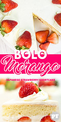 Bolo de Morango e Chantilly (Japanese Strawberry Shortcake) por PratoFundo.com ([Vitor Hugo]) Tags: bolomorango strawberryshortcake sweet comida bolo morango chantilly