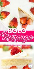 Bolo de Morango e Chantilly (Japanese Strawberry Shortcake) por PratoFundo.com ([Vitor Hugo]) Tags: bolomorango strawberryshortcake sweet comida bolo morango chantilly