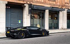 Nero Nemesis (Alex Penfold) Tags: lamborghini avetador sv roadster supercars supercar super car cars autos alex penfold 2016 london matte black