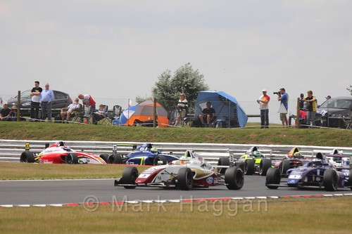 British Formula 4 during the BTCC 2016 Weekend at Snetterton