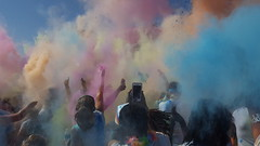 Tropicolor 2016 (armykat) Tags: baltimoremaryland thecolorrun tropicolor2016 5k run runners colortoss