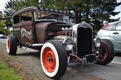 "Ford Model A ""Hootenanny Hot Rod"" (Custom_Cab) Tags: street door 2 hot ford car sedan model tudor rod custom 1928 hootenanny 1929 kustom 2door a"