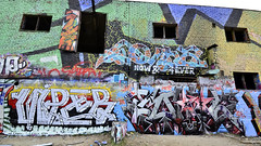 pispala 52-17 (Logical Progression) Tags: street old city urban streetart color art abandoned wall suomi finland painting graffiti design town artwork paint artist factory fame tracks spray countries writers match nordic graff aerosol tampere hof perkele taide graffitiwriters katutaide katu pispala urbanarte kaupunkitaide tikkutehdas finstreetart