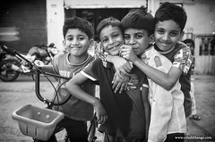 Happy Kids (bnilesh) Tags: portrait people face horizontal kids happy kid child outdoor expression candid indian innocent streetphotography individuals