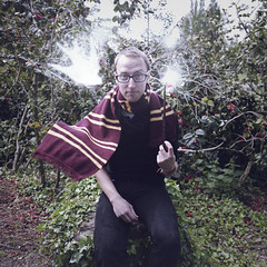 Joel and his Patronus 12/365 (christineadel) Tags: magic harry harrypotter potterhead joelrobison wonderweeks