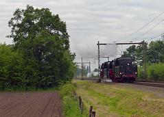 VSM 23 071+076 bij Hengelo (Allard Bezoen) Tags: amsterdam br bad cs 23 trein centraal mij bentheim stoomtrein vsm 071 076 baureihe menden maatschappij arbeitsgemeinschaft westfalendampf veluwsche excursietrein