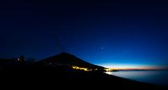 Rauchzeichen (imac_public) Tags: italien sunset italy vulcan active stromboli vulkan
