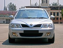 2004 Proton Waja 1.6 AT (ENH) in Ipoh, MY (09, Exterior) (Aero7MY) Tags: 2004 car sedan malaysia 16 saloon ipoh enhanced proton enh waja 16l 4door impian at 4g18