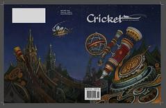 Cover (iskallick) Tags: art illustration telescope astrolabe steampunk childrensillustration cricketmagazine